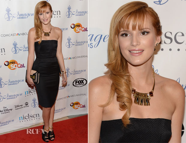 Bella Thorne In Olima - 28th Annual Imagen Awards