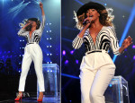Beyonce Knowles In Gucci - The Mrs Carter Show