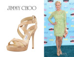 Brittany Snow's Jimmy Choo 'Vamp' Sandals