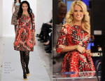 Carrie Underwood In Oscar de la Renta - Good Morning America