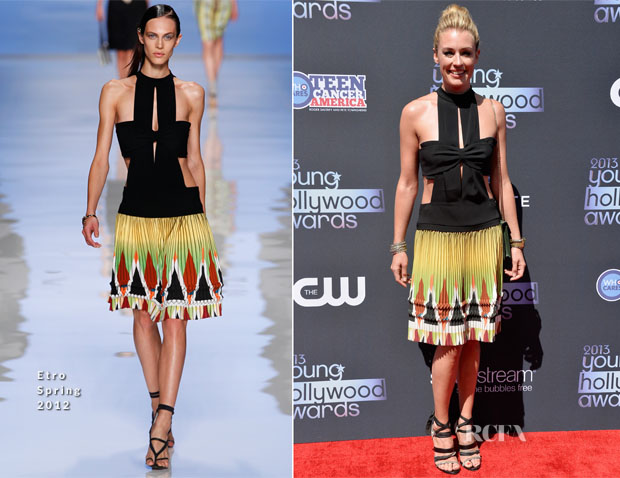 Cat Deeley In Etro - Young Hollywood Awards 2013