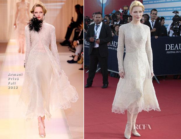 Cate Blanchett In Armani Privé - Deauville American Film Festival Opening Ceremony
