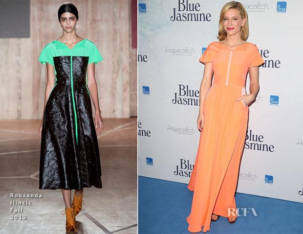 Cate Blanchett In Roksanda Ilincic - 'Blue Jasmine' Sydney Premiere