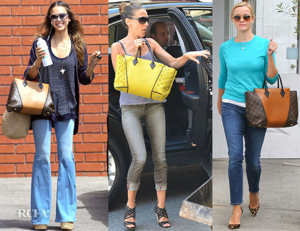 Celebrities Love  Louis Vuitton 'W' Bag