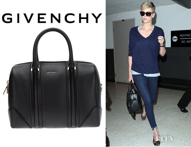Charlize Theron's Givenchy 'Lucrezia' Tote