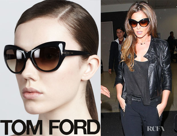 Cheryl Cole's Tom Ford Bardot Sharp Cat-Eye Sunglasses
