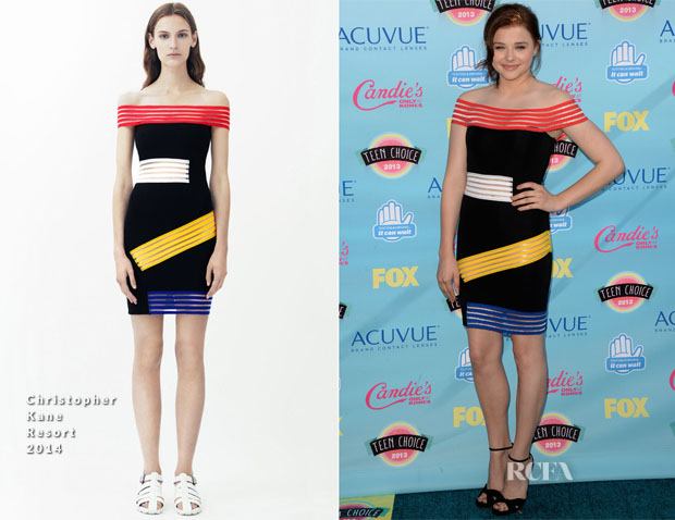 Chloe Moretz In Christopher Kane - 2013 Teen Choice Awards