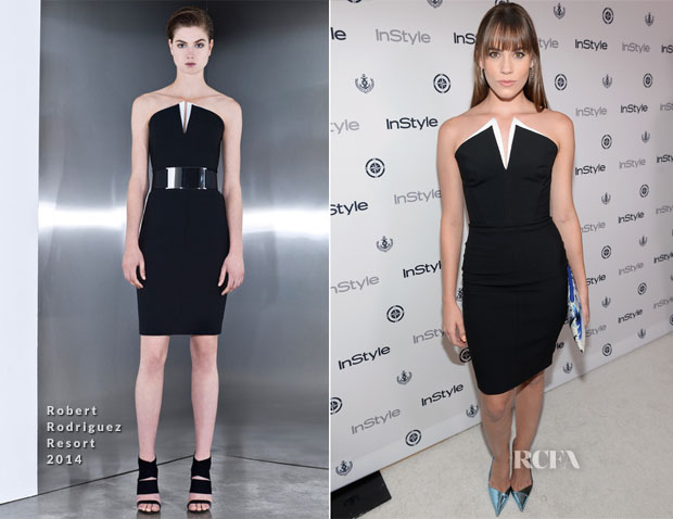 Christa B Allen In Robert Rodriguez - InStyle Summer Soiree