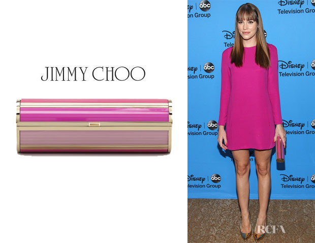 Christa B. Allen's Jimmy Choo 'Cosma Disco' Clutch