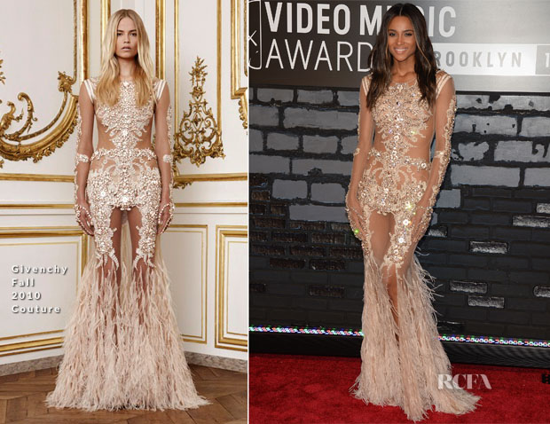 Ciara In Givenchy Couture - 2013 MTV Video Music Awards #VMAs