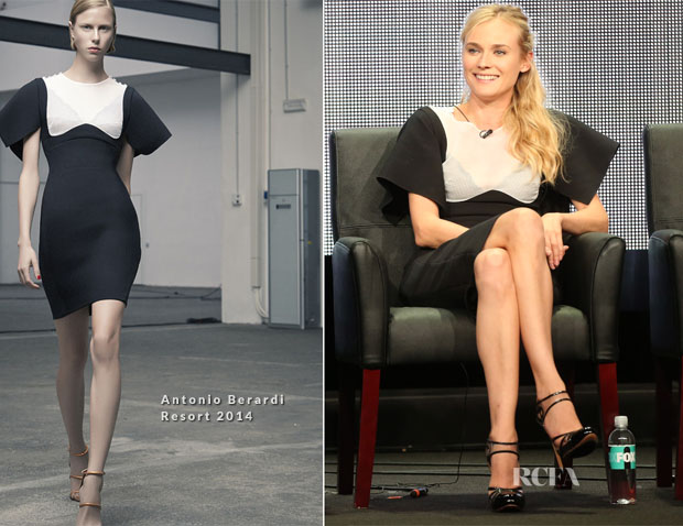 Diane Kruger In Antonio Berardi - 'The Bridge' Discussion Panel Television Critics Association's Summer Press Tour