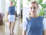 Diane Kruger In Thakoon Additon - 'The Bridge' HFPA Press Conference