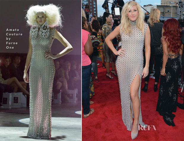 Ellie Goulding In Amato Couture by Furne One - 2013 MTV Video Music Awards #VMAs