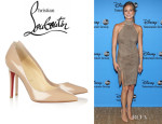 Emily VanCamp's Christian Louboutin 'Pigalle' Pumps