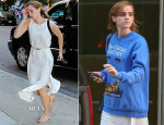 Emma Watson In J Brand - Out In New York City