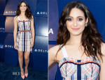 Emmy Rossum In Rebecca Minkoff - Delta Air Lines Hosts Summer Celebration In Beverly Hills
