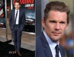Ethan Hawke In Dior Homme - 'Getaway' LA Premiere
