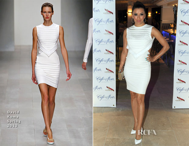 Eva Longoria In David Koma - Starlite Gala Dinner