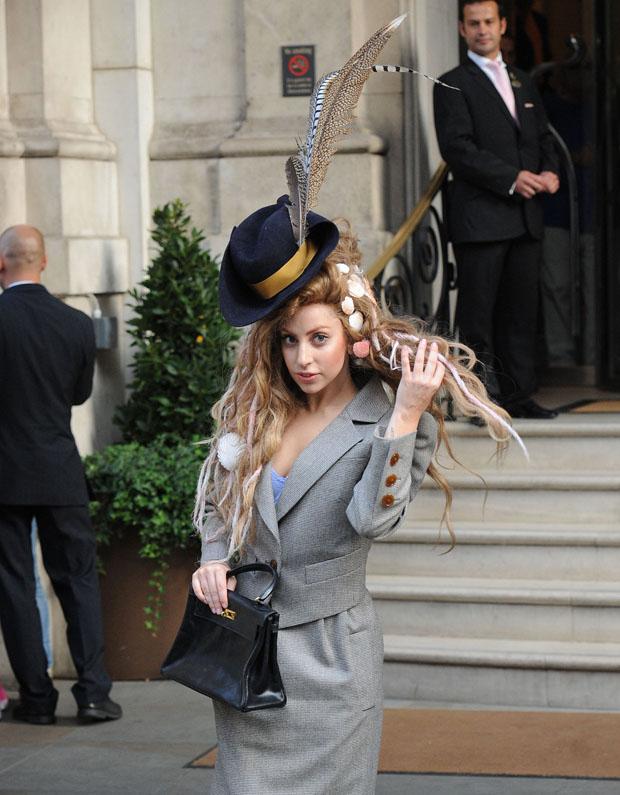 Lady Gaga in Vivienne Westwood