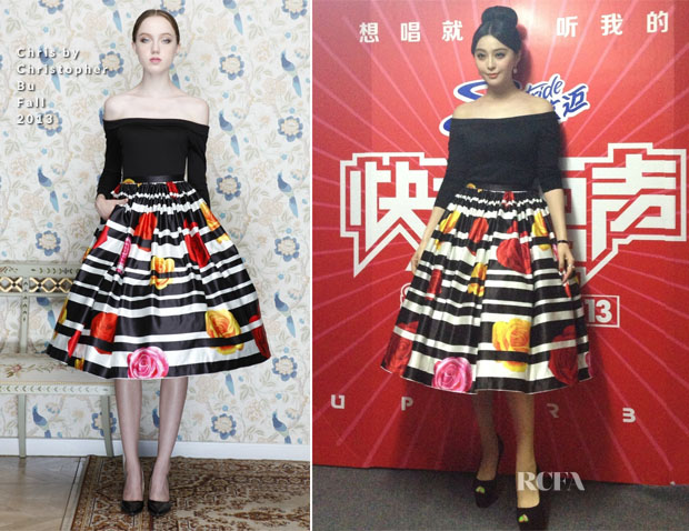Fan Bingbing In Chris by Christopher Bu - 'Super Boy'