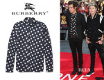 Harry Styles' Burberry Prorsum Heart Print Shirt