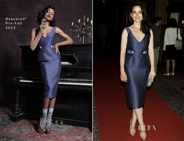 Hayley Atwell In Dsquared² - 'The Pride' Press-Night Performance After-Party