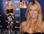 Heidi Klum In Dolce & Gabbana - 'America's Got Talent' Post Show Red Carpet