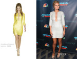 Heidi Klum In Kaufmanfranco - 'America's Got Talent' Post-Show Red Carpet