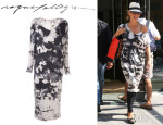 Heidi Klum's Raquel Allegra Tie Dye Dress