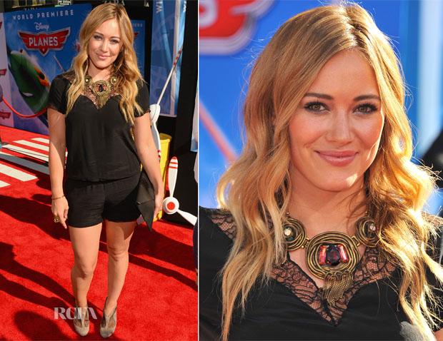 Hilary Duff In Maje - 'Planes' LA Premiere