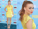 Holland Roden In Notte by Marchesa - 2013 Teen Choice Awards