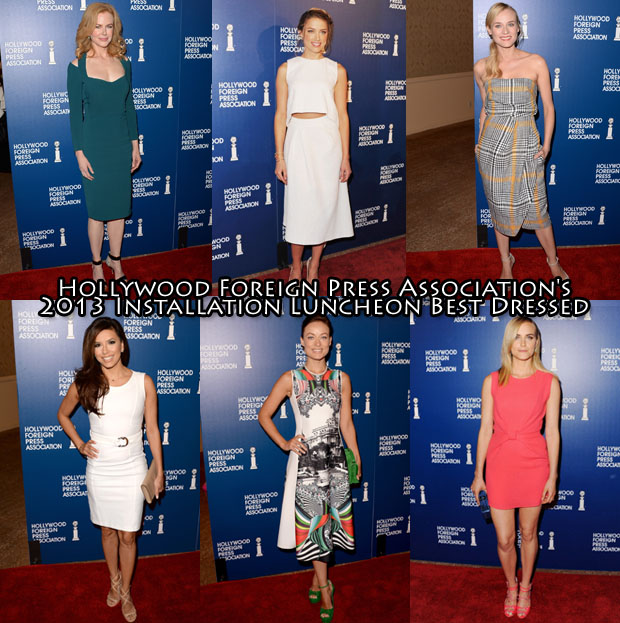Hollywood Foreign Press Association's 2013 Installation Luncheon Best Dressed