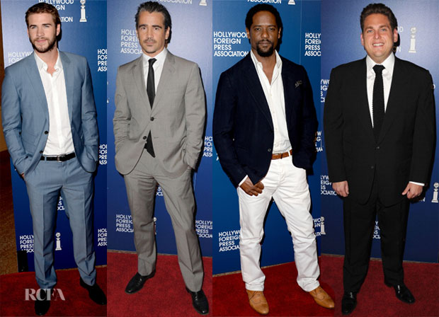 Hollywood Foreign Press Association's 2013 Installation Luncheon Men