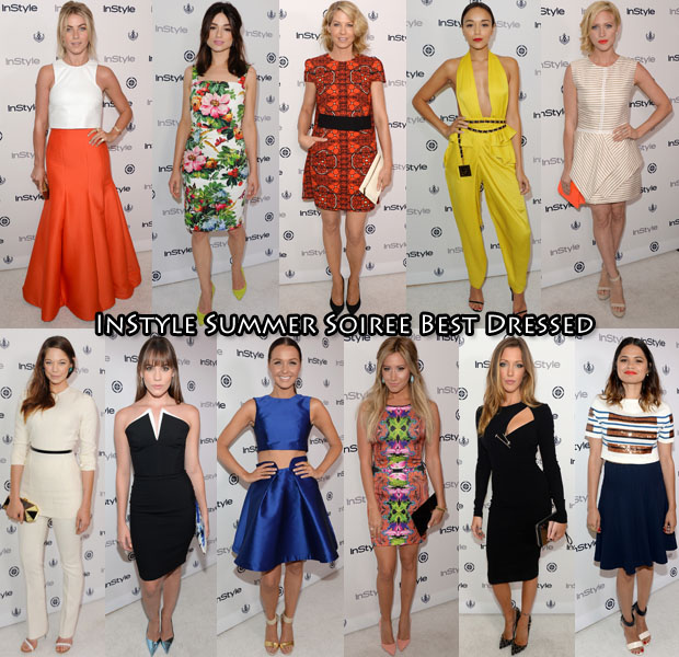 InStyle Summer Soiree Best Dressed