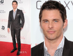James Marsden In Dolce & Gabbana - The Butler' New York Premiere