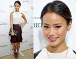 Jamie Chung In Ann Taylor - 'Kitchen Revelry' Cookbook Release Party