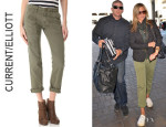 Jennifer Aniston's Current/Elliott Army Pants
