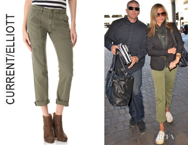 Jennifer Aniston's CurrentElliott Army Pants