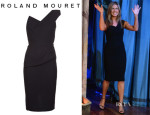 Jennifer Aniston's Roland Mouret One Shoulder Dress