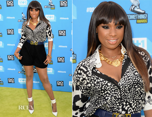 Jennifer Hudson In Versace - 2013 Do Something Awards