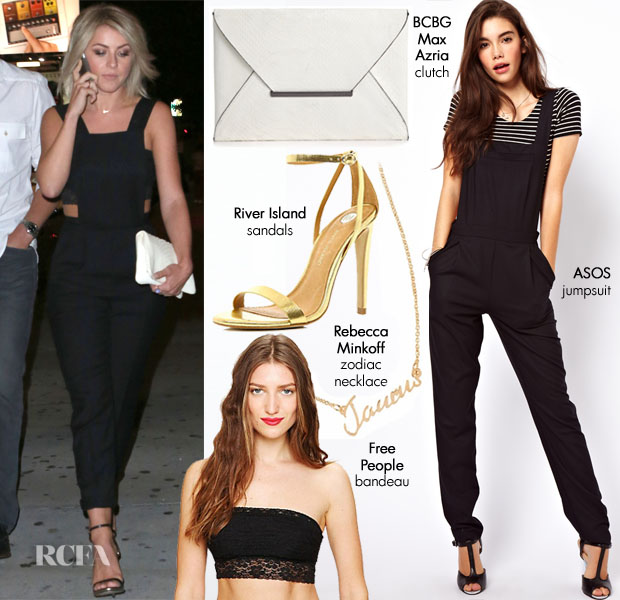 Julianne Hough Date Night  Jumpsuit