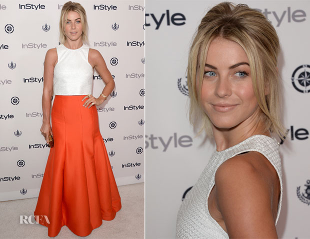 Julianne Hough In Bec & Bridge and Halston Heritage - InStyle Summer Soiree