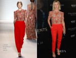 Julianne Hough In Jenny Packham - 'The Mortal Instruments: City of Bones' LA Premiere