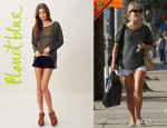 Julianne Hough's Feel The Piece Long Sleeve Sweater