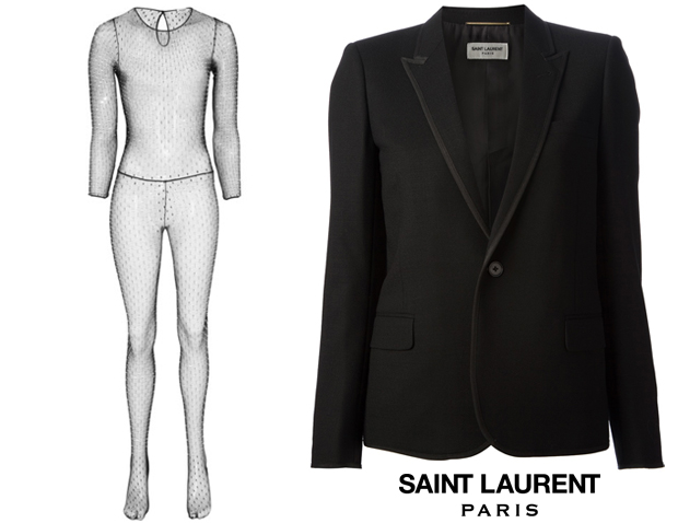 Kate Moss Saint Laurent