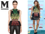 Katerina Graham M Missoni Brocade Intarsia Top
