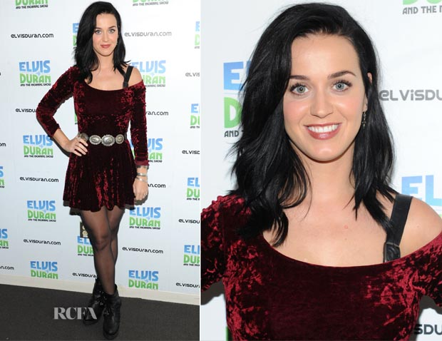 Katy Perry In Lucca Couture - The Elvis Duran Z100 Morning Show