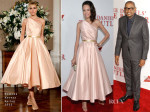 Keisha Whitaker In Romona Keveza & Forest Whitaker In Prada - 'The Butler' LA Premiere