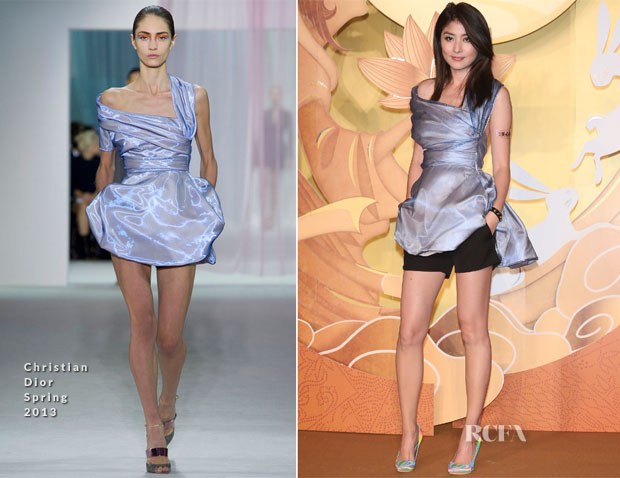 Kelly Chen In Christian Dior - mooncake Event