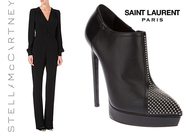 Keri Russell In Stella McCartney and Saint Laurent 2